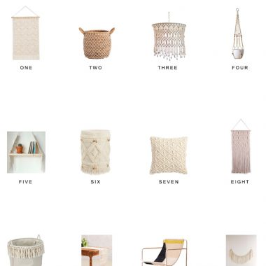 Home Trends | Macrame