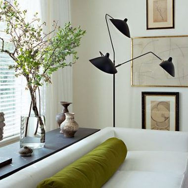 DWR Serge Mouille Three Arm Floor Lamp
