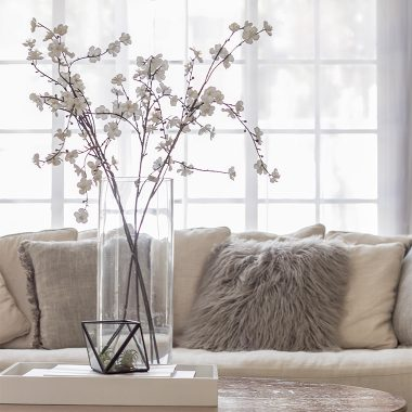 Our favorite flowering branches for your home | copycatchic luxe living for less budget home decor and design
