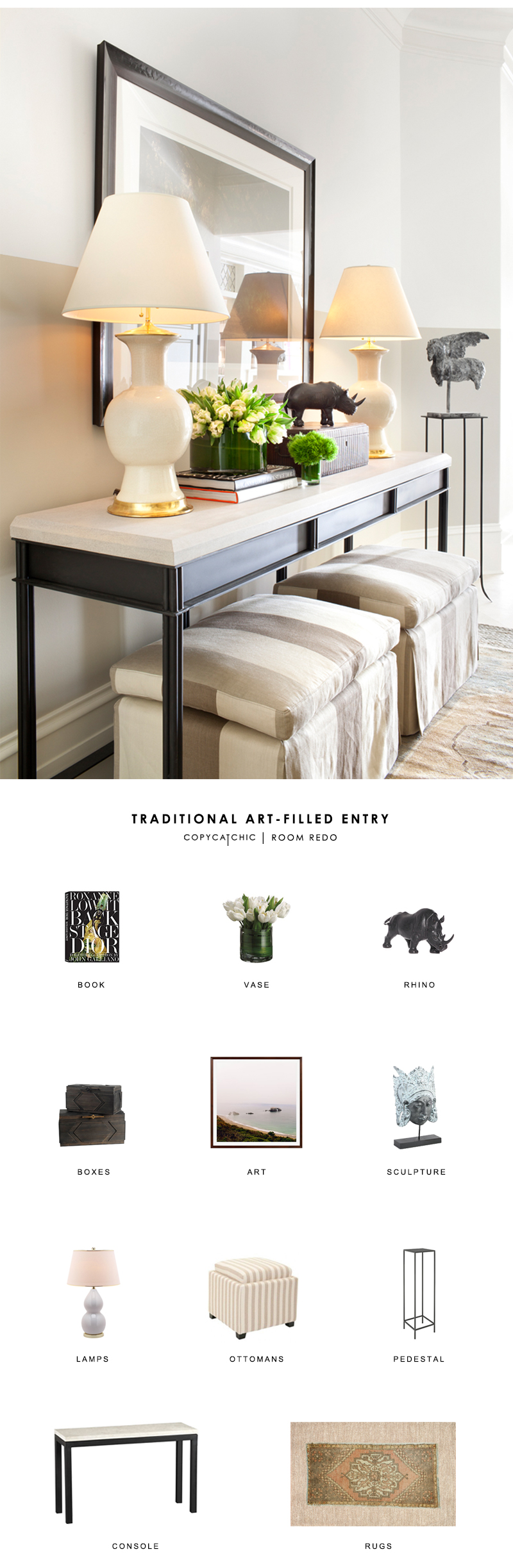 Traditional entryway by Holt Interiors gets a budget makeover by copycatchic luxe living for less budget home decor and design looks for less