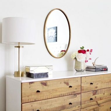 West Elm Acrylic Column Table Lamp $169 vs Glass and Gold Cylinder Fillable Lamp for $100 Fillable Table Lamp look for less copycatchic budget home decor