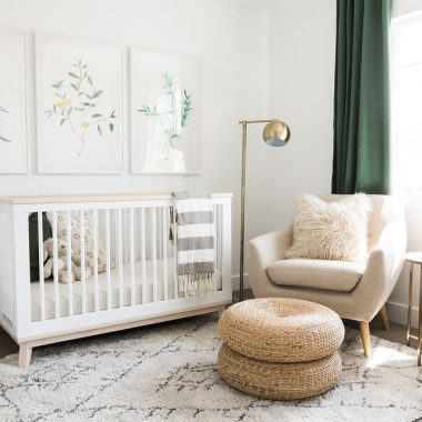 Room Redo | Earthy Modern Nursery
