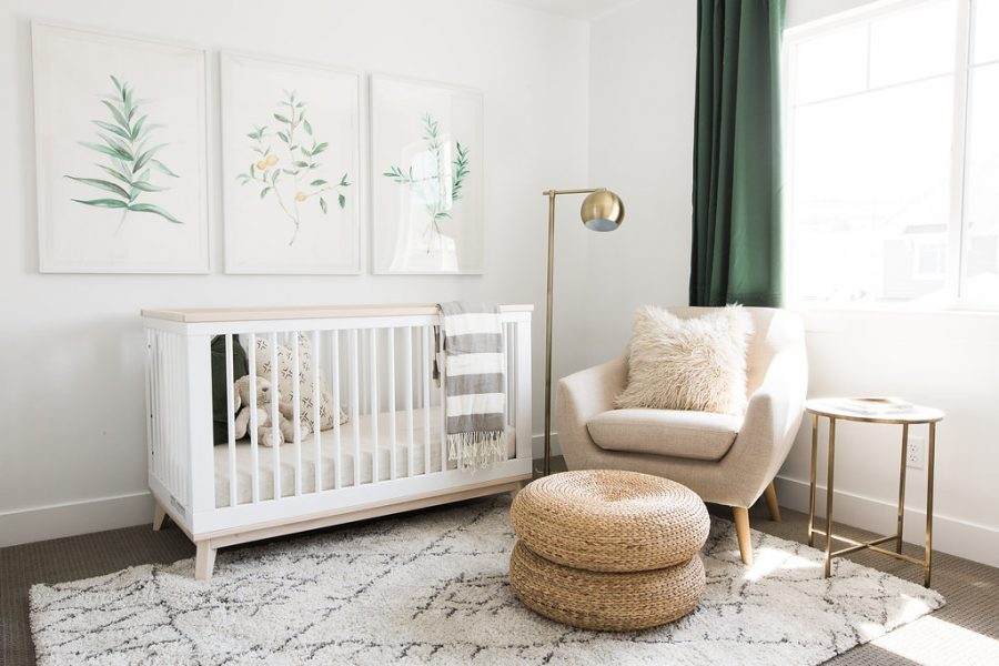 A natural modern nursery by Akin Design Studio gets recreated for less by copycatchic luxe living for less budget home decor design room redos