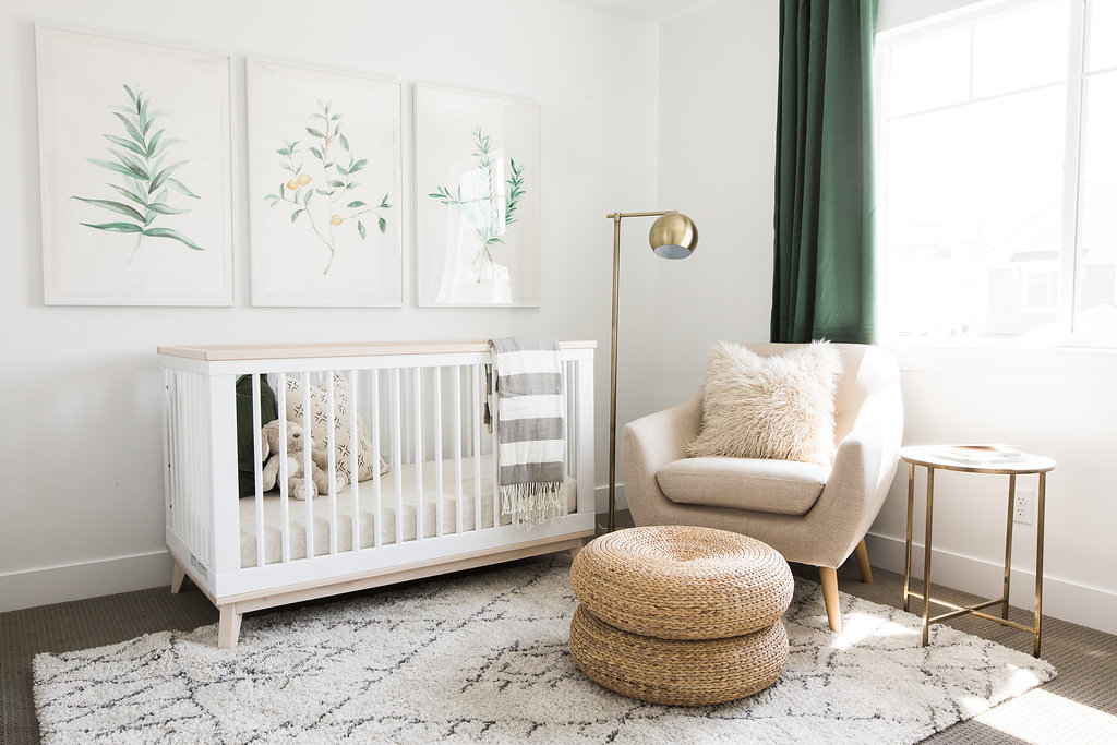 Room Redo Earthy Modern Nursery Copycatchic