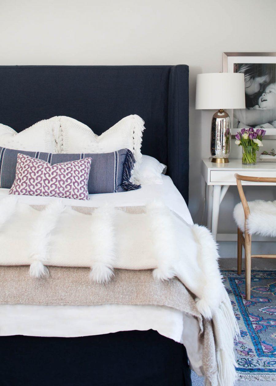 Room Redo | Vibrant Textural Bedroom