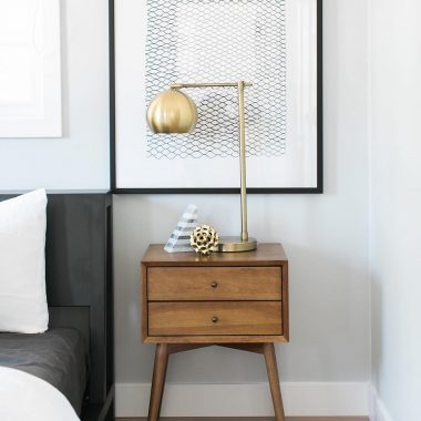 Daily Find | West Elm Striped Angle Geometry Book End