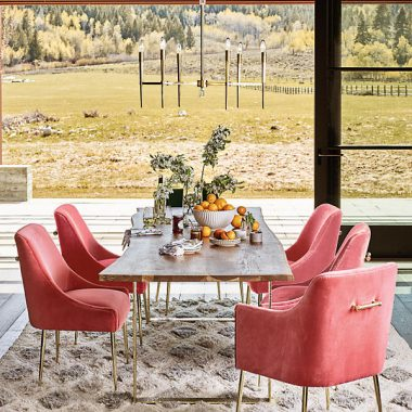 Daily Find | Anthropologie Smoked Oak Dining Table