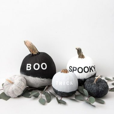 Home Trends | Modern Minimalist Halloween Decor