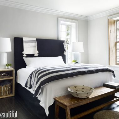 Room Redo | Classic Striped Bedroom