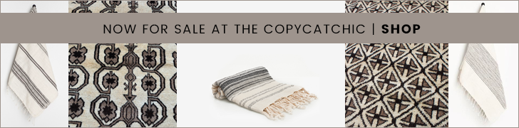 copycatchic shop | handmade linens and rugs