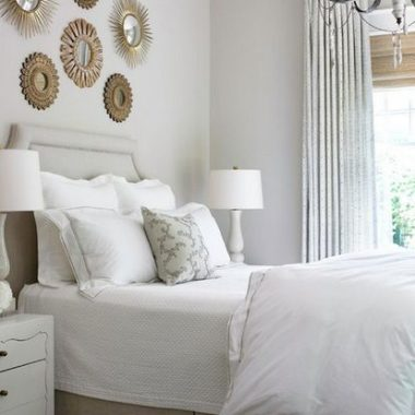 Ballard Designs Suzanne Kasler Sunburst Mirror$109 vs H&M Round Mirror$20 mini gold mirror look for less copycatchic luxe living for less budget home decor and design daily finds