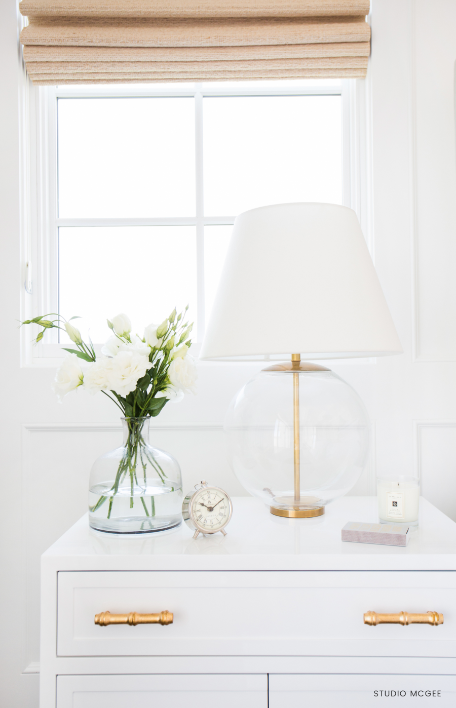 Serena & Lily Georgia Table Lamp $698 vs Luna Table Lamp $175 brass and glass table lamp look for less copycatchic luxe living for less budget home decor and design daily finds