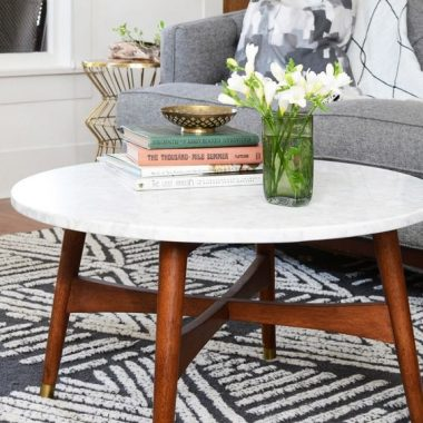 Daily Find | West Elm Reeve Mid-Century Coffee Table