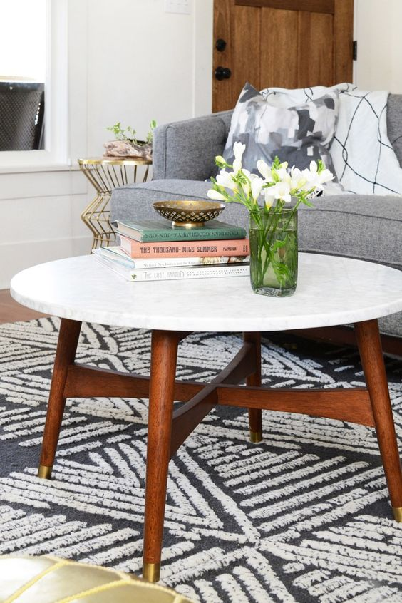 West Elm Reeve Mid Century Coffee Table $399 Vs Belham Living James Round Mid  Century