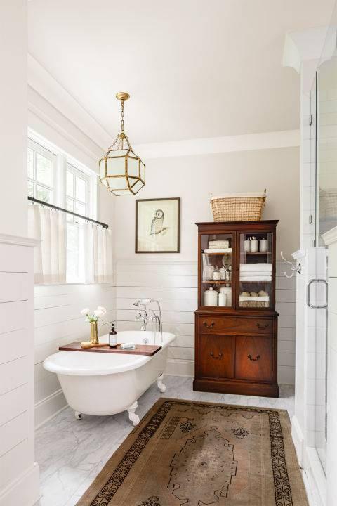 Room Redo Warm Vintage Bathroom Copycatchic