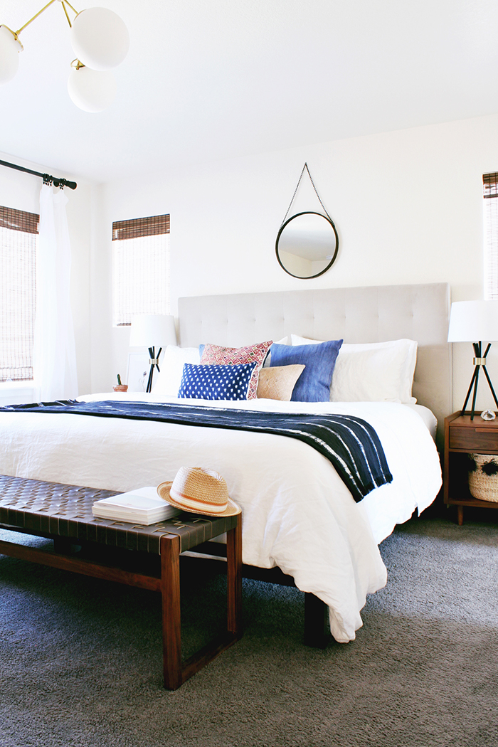 room redo boho modern bedroom copycatchic 12560 | instagram 2
