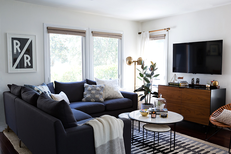 Room Redo | Modern Layered Living Room