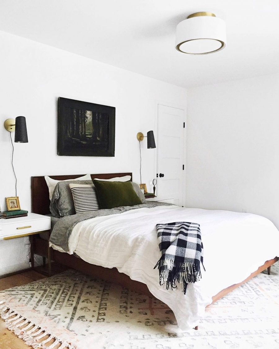 Faribault Buffalo Check Throw $90 vs Kirkland's Buffalo Check Throw Blanket $25 Buffalo check throw look for less copycatchic luxe living for less budget home decor and design daily finds