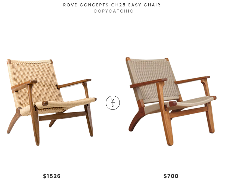 Super Daily Find Rove Concepts Ch25 Easy Chair Copycatchic Beatyapartments Chair Design Images Beatyapartmentscom