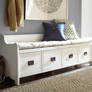 Daily Find | Pottery Barn Wade Bench