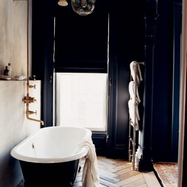 Daily Find | Rejuvenation Black Clawfoot Tub