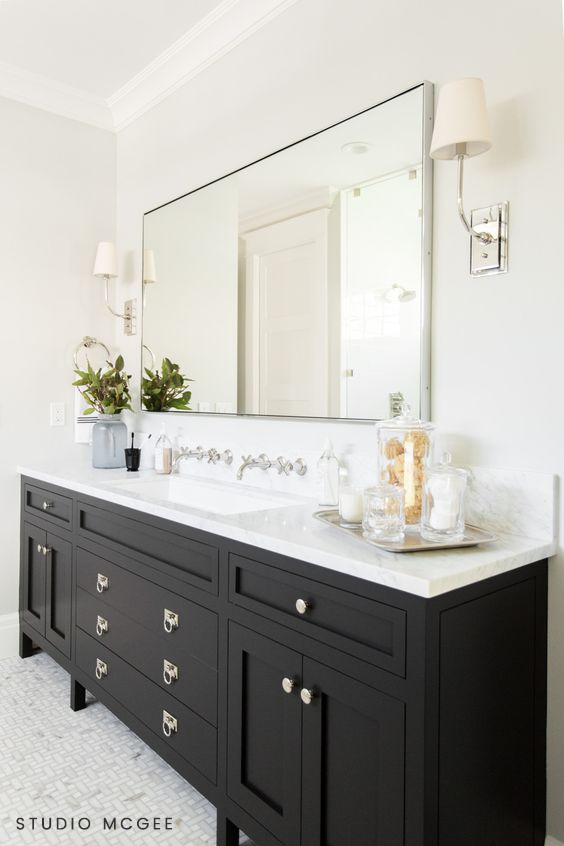 Kohler Purist Polished Chrome Faucet $495 vs Home Depot Kingston Brass Bathroom Faucet $146 modern faucet look for less copycatchic luxe living for less budget home decor and design daily finds