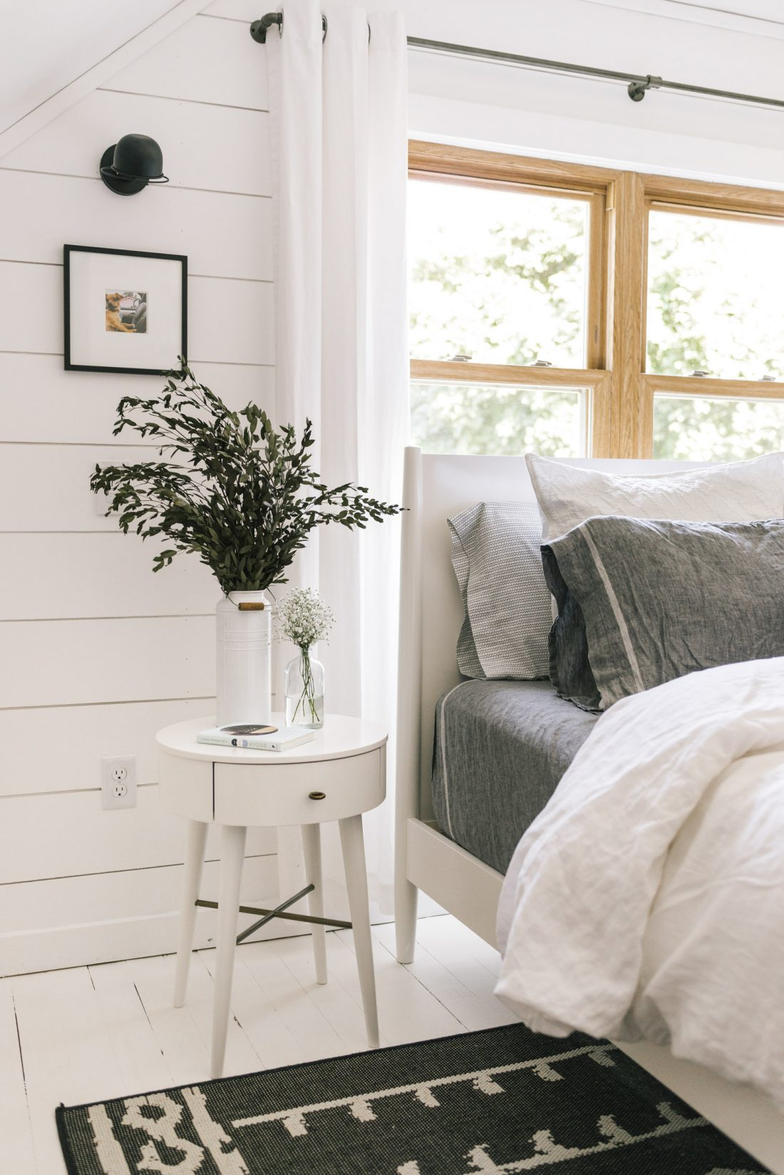 Daily Find West Elm Mid Century Bed White Copycatchic