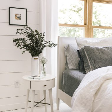 Daily Find | West Elm Mid-Century Bed White