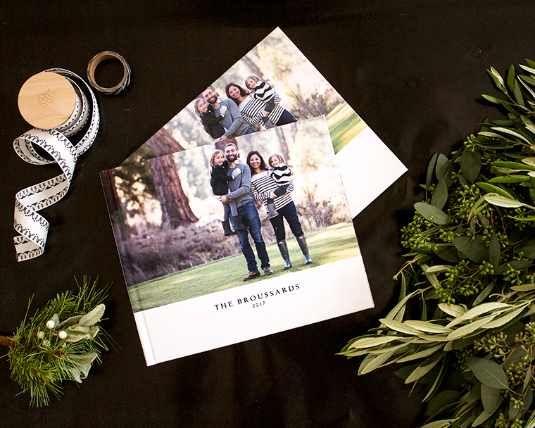 Holiday photo book gifts for family with Blurb. New lay-flat option makes designing a breeze and shows more of your photo! copycatchic luxe living for less