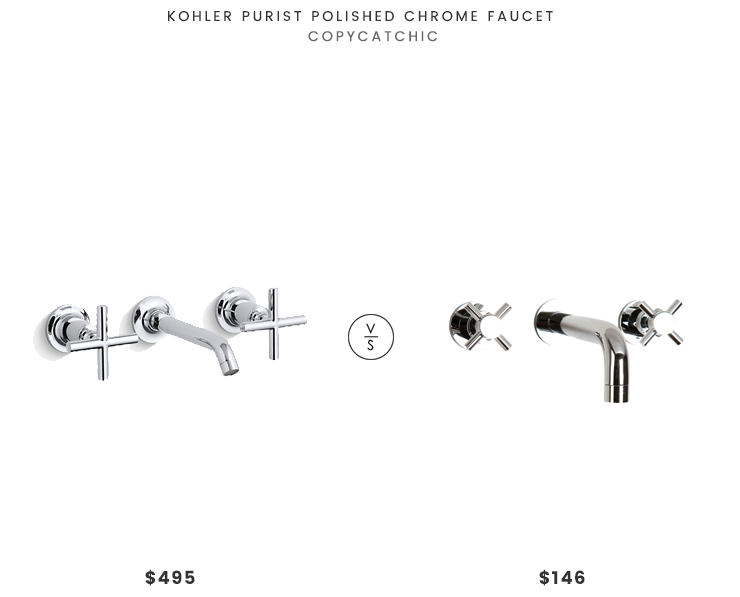 Daily Find Kohler Purist Polished Chrome Faucet Copycatchic