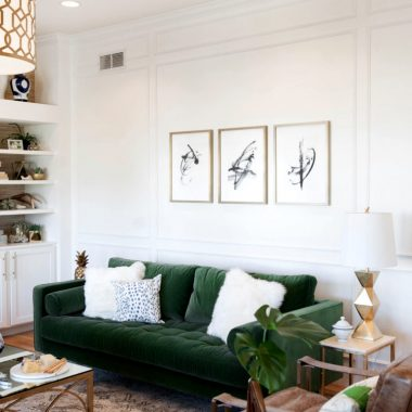 Room Redo | Earthy Glam Living Room