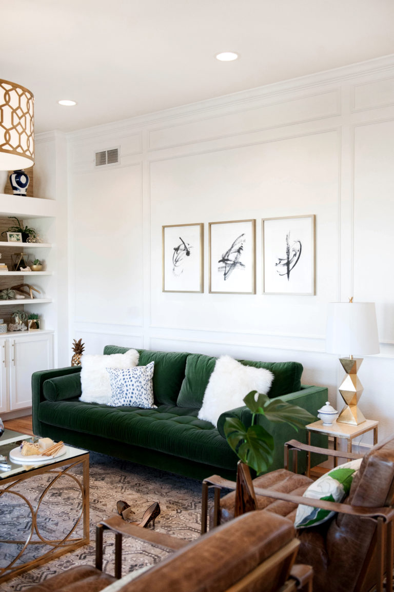 Room Redo | Earthy Glam Living Room | Copy Cat Chic ...