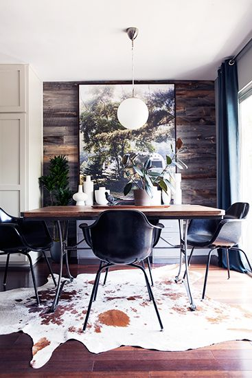 Room Redo | Rustic Eclectic Dining Room
