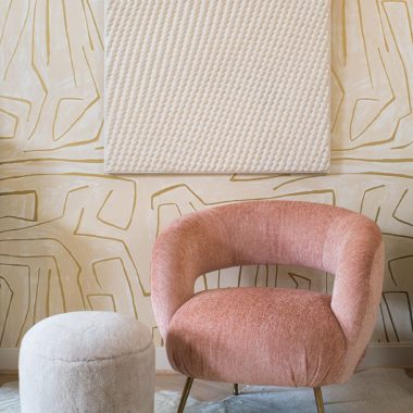 Kelly Wearstler Laurel Lounge Chair $6,375 vs Joss & Main Gosselin Velvet Barrel Chair $400 retro chic lounge chair look for less copycatchic luxe living for less budget home decor and design daily finds