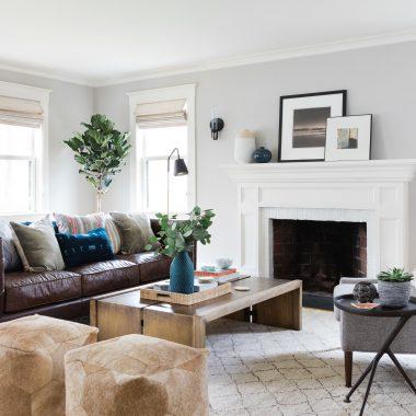 Room Redo | Boho Modern Living Room