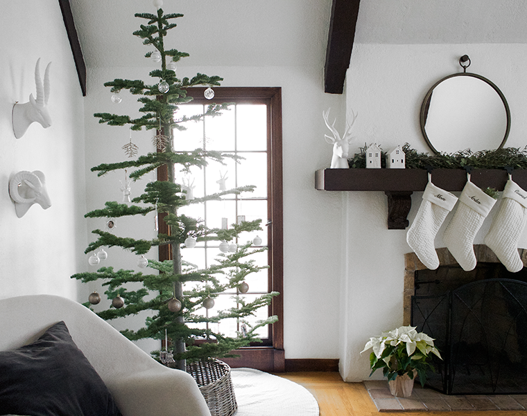 home trends modern christmas decor