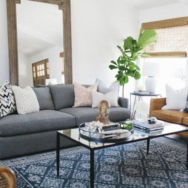 Room Redo | Cozy Eclectic Living Room