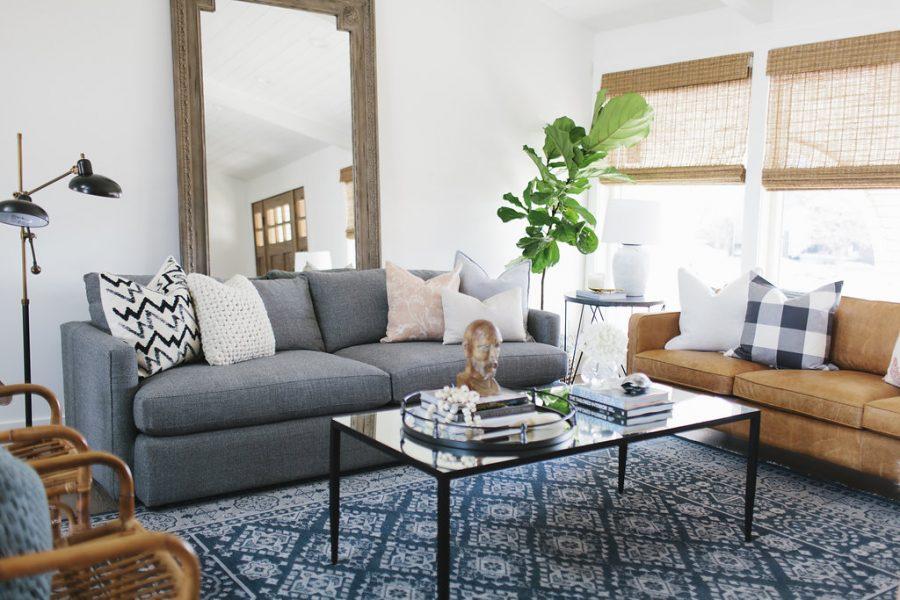 Room Redo | Cozy Eclectic Living Room