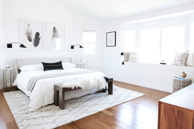 Room Redo Neutral Boho Bedroom Copycatchic