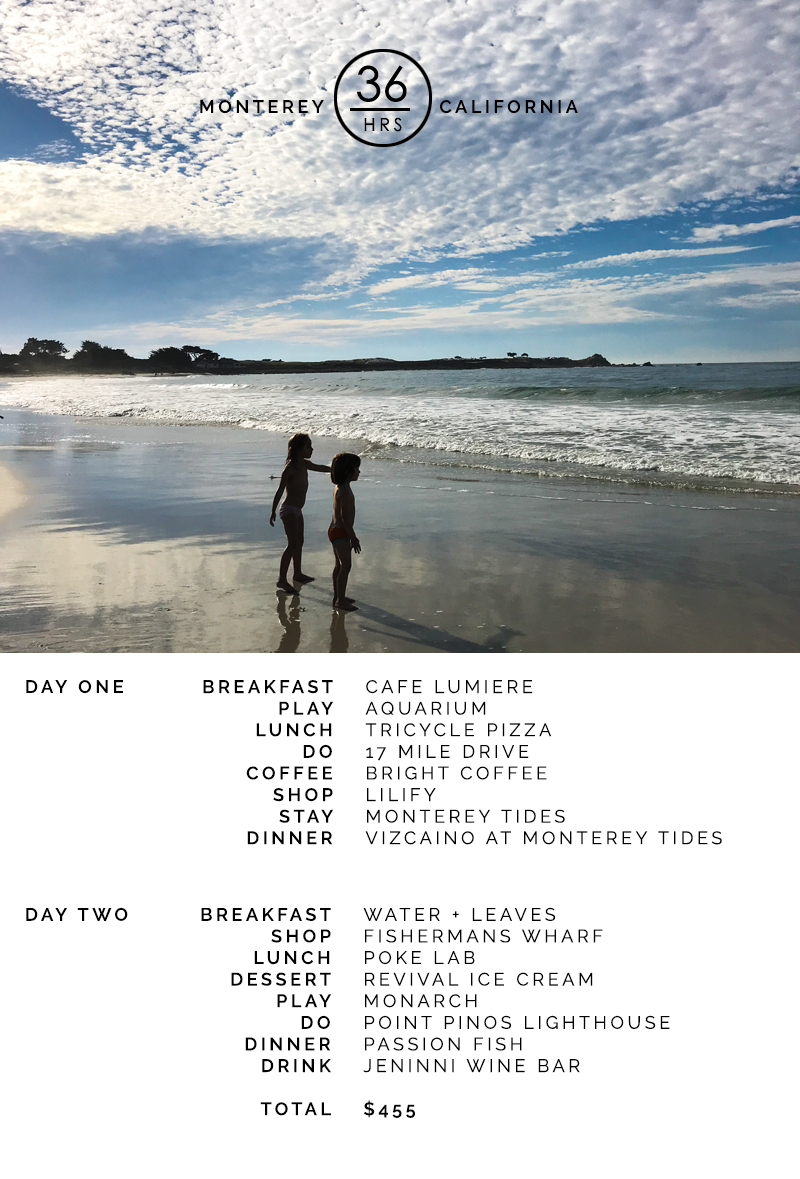 copycatchic 36 hrs in Monterey California Hipster designer destination cheap travel guide - Explore Monterey for the weekend for under $500 | copycatchic luxe living for less budget travel guides and itinerary