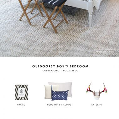Room Redo | Outdoorsy Boy's Bedroom