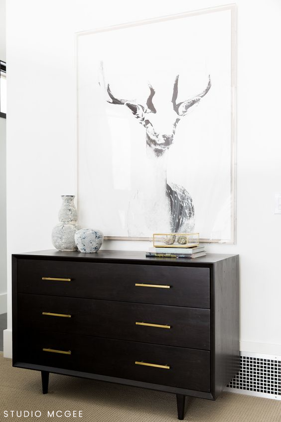 Four Hands Suki 6 Drawer Dresser $1,240 vs Macy's Cambridge Dresser $629 modern dresser look for less copycatchic luxe living for less budget home decor and design daily finds