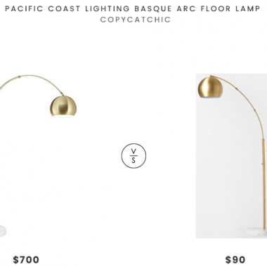 Daily Find | Pacific Coast Lighting Basque Arc Floor Lamp