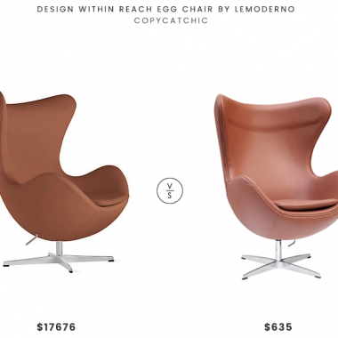 Daily Find | Design Within Reach Egg Chair by Lemoderno