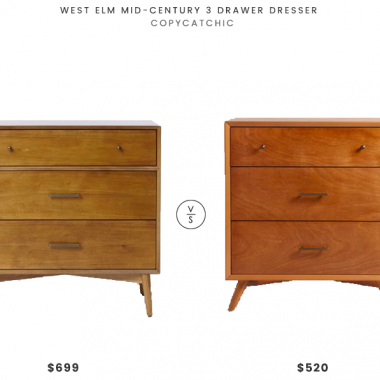 Daily Find | West Elm Mid-Century 3 Drawer Dresser