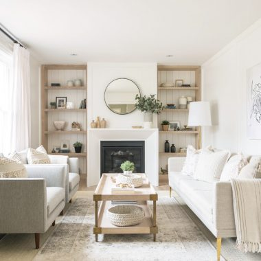 Room Redo | Serene Neutral Living Room