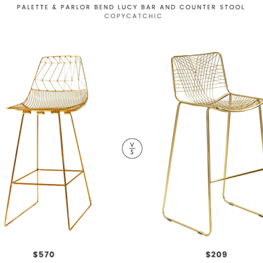 Daily Find | Palette & Parlor Bend Lucy Bar Stool