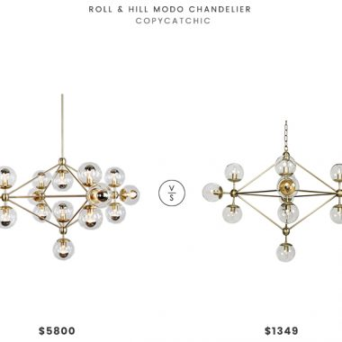 Daily Find | Roll and Hill Modo Chandelier
