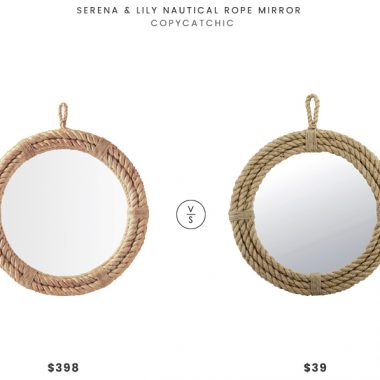 Daily Find | Serena and Lily Nautical Rope Mirror
