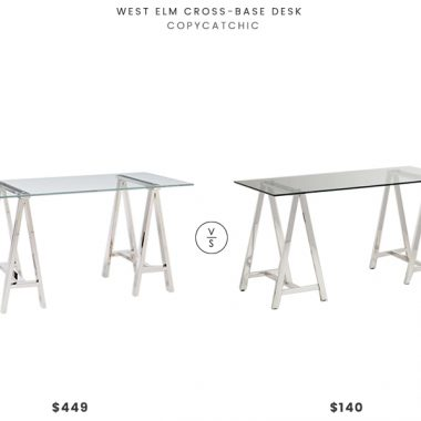 Daily Find | West Elm Cross Base Desk